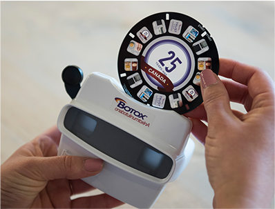 Allergan Botox 25th Anniversary Viewmaster